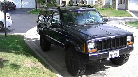 Jeep Initials 1998 Jeep Xj Classic Upgrades After Initial Fixes
