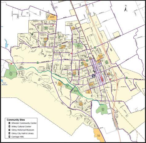 california map gilroy gilroy ca official website