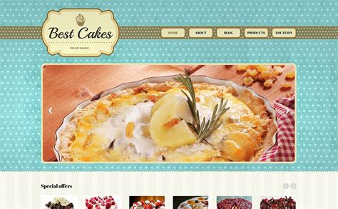 bootstrap themes bakery bakery responsive website template 47639