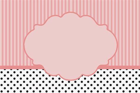 decorar texto html rayas rosa y lunares negros invitaciones para imprimir