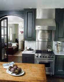 Grey Painted Kitchen Cabinets Painted Kitchen Cabinets Gray Ralph Surrey White Marble Countertops A Photo