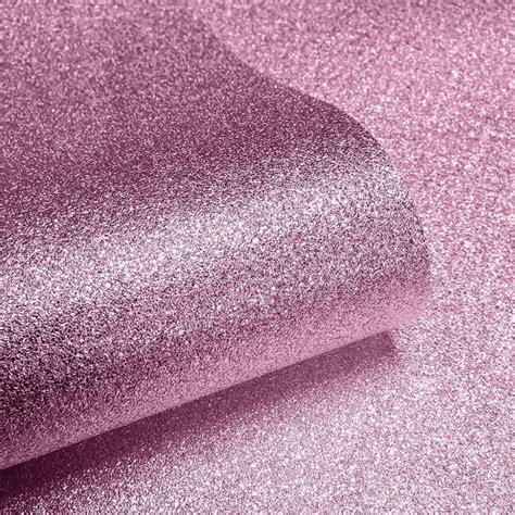 glitter wallpaper adhesive muriva sparkle real glitter wallpaper soft pink 601530