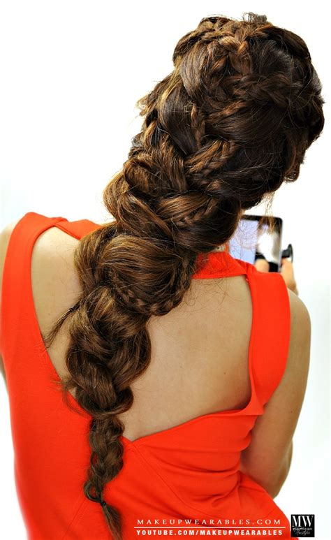 Big Braid Hairstyles by Big Braid Styles Hairstylegalleries