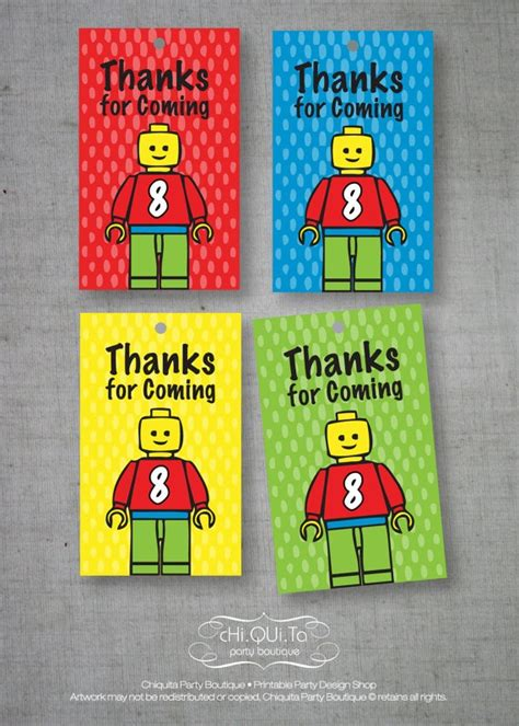 Thank You Card Mini Tema Lego 26 best images about lego on lego