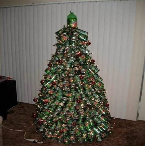 festive mountain dew christmas tree strange beaver