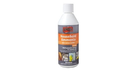 barrettine household ammonia 500ml home cleaning products topline ie