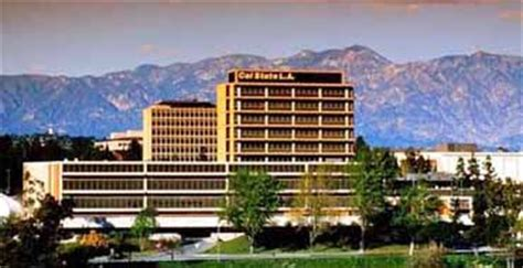California State Los Angeles Mba Cost by California State Los Angeles Csula History