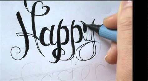 Happy Writing happy birthday fancy writing www imgkid the image