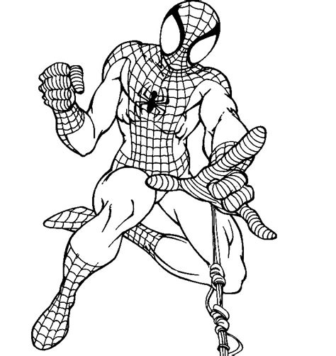 spiderman printable coloring pages az coloring pages