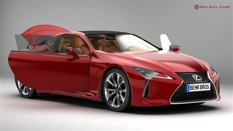 lexus model lexus lc 500 us 2018 3d model buy lexus lc 500 us 2018