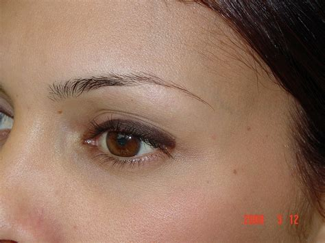 tattoo eyebrows hawaii before eyebrow tattoo via flickr permanent eyebrows