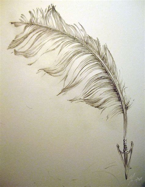 love would send an arrow to your heart feather tattoos