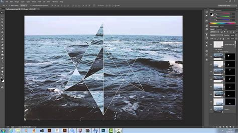 tutorial illustrator and photoshop tutorial hipster geometric design in illustrator and