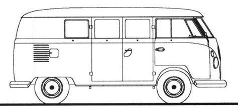 volkswagen van drawing how to draw a volkswagen bus google search volkswagen