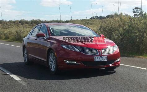 lincoln australia lincoln mkz spotted testing in australia to be part of