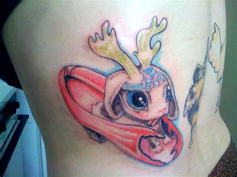 jackalope tattoo traditional jackalope