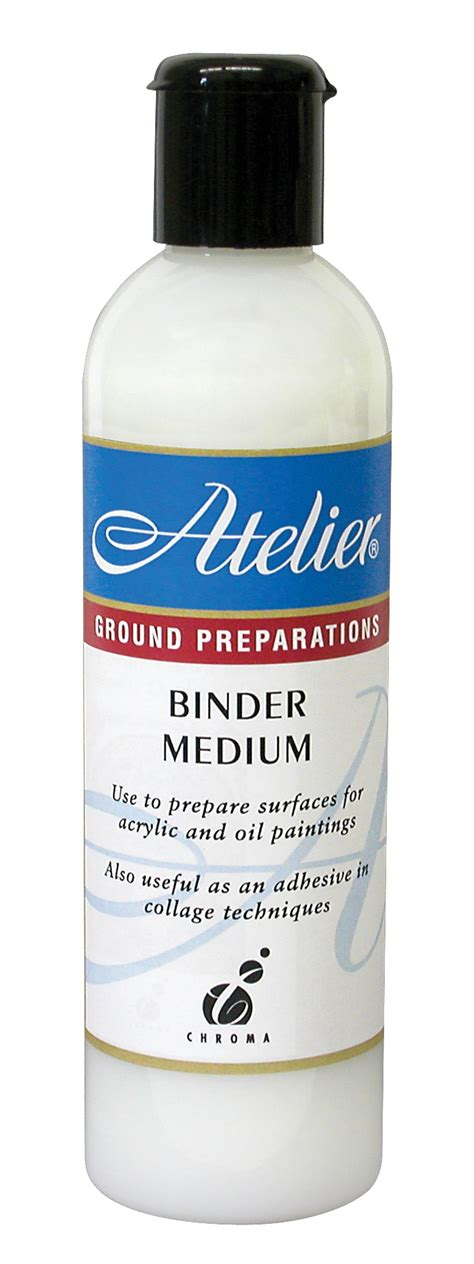 acrylic paint binder atelier binder medium a waterbased acrylic emulsion
