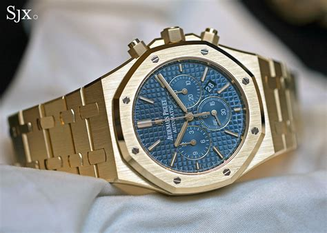on with the audemars piguet royal oak chronograph 41