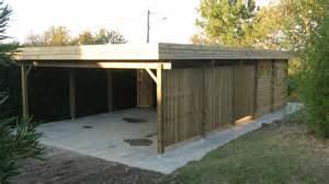 4 Car Carport Carports Bois Garages Bois Personnalis 233 S Au Sur Mesure