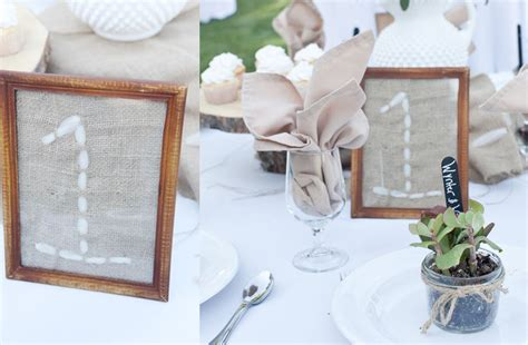 Wedding Table Number Ideas Unique Wedding Reception Table Number Ideas Stitching Burlap Onewed