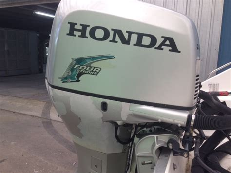 marine outboard refinishing honda paint peeling solution the hull boating and fishing