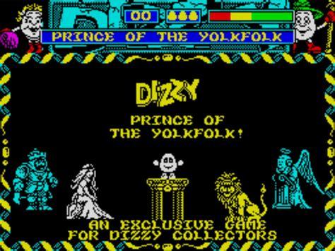 emuparadise zx spectrum dizzy vi prince of the yolkfolk 1991 codemasters 128k