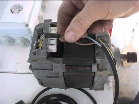 como conectar motor escobillas lavadora directamente a c 243 mo conectar un motor de lavadora con escobillas connect