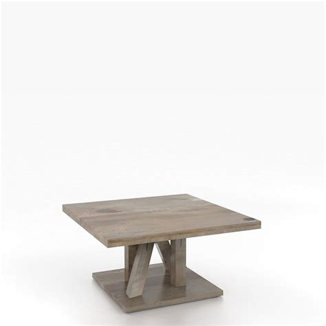 canadel csq3636 xl loft square coffee table discount