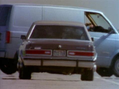 se filmer gek van geluk imcdb org 1984 dodge diplomat se in quot walker texas ranger