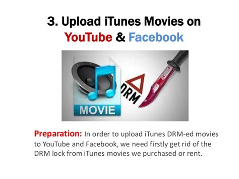 film up load how to upload itunes movies on youtube and facebook