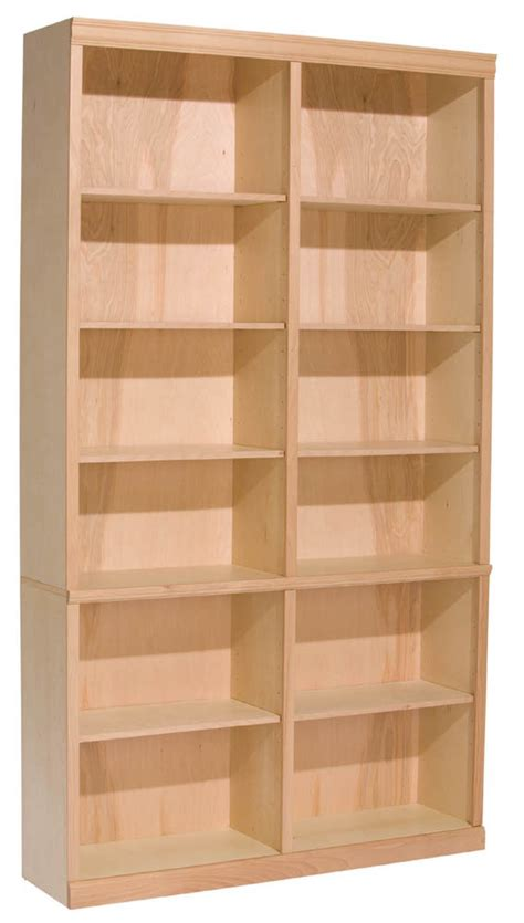497w 84 quot x 48 quot wide classic bookcase bookcases