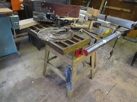 powermatic table saw model 63 k c auctions stillwater woodworking and collectibles in