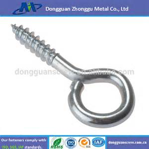 Wholesale stainless steel wood screw cup hook screw buy hook screw