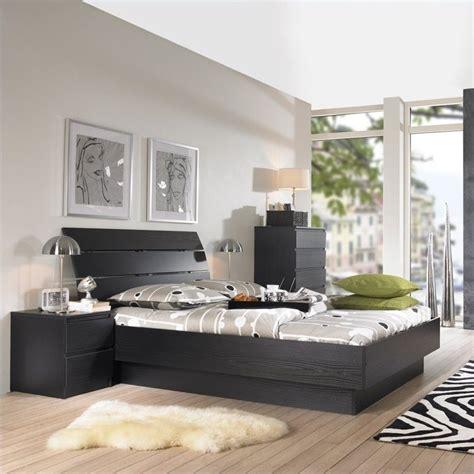 3 piece bedroom set platform 3 piece bedroom set in black woodgrain 7624x61 3pkg