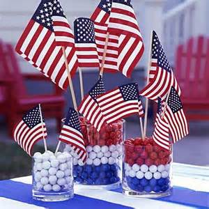 easy table decorations for 4th of july independence day