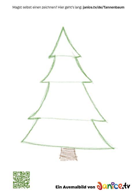 weihnachtsbaum tannenbaum zeichnen so geht s janice tv