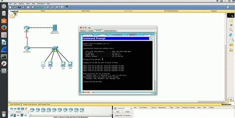Cisco Packet Tracer Tutorial Ping | cisco packet tracer pr 225 ctica 25 ping y traceroute youtube