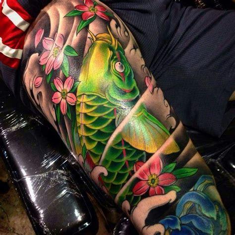 koi tattoo green best 25 koi fish tattoo ideas on pinterest japanese