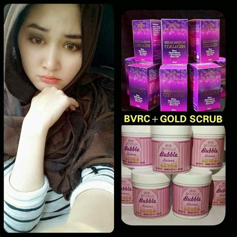 Bvr Collagen Original design bvrc bubblelicious gold scrub termurah