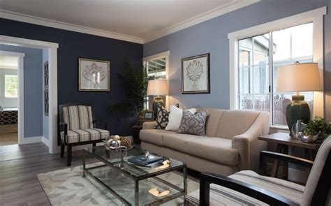 two color living room walls 26 blue living room ideas interior design pictures