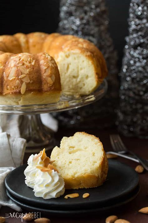 recipe for new year cake new years almond pound cake luck cake