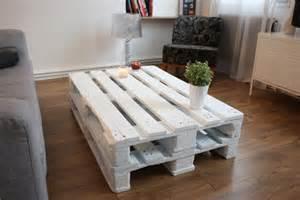 diy la table basse avec des palettes de bois