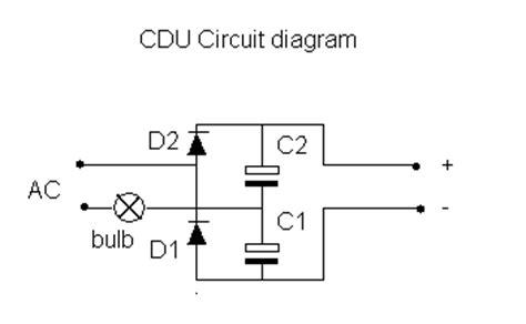 capacitor discharge units schematic dcc diy capacitor discharge unit