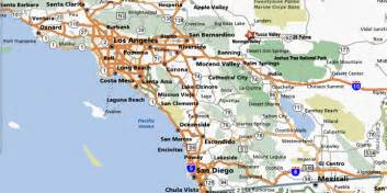 map of southern california towns southern california county map with cities pictures to pin