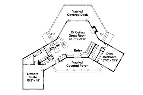the floor plan lodge style house plans blue creek 10 564 associated