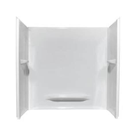 lowes bathroom tub surrounds shop style selections bathtub surrounds white acrylic