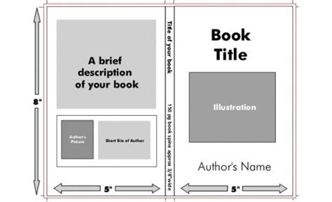 book jacket template disorders book jacket template