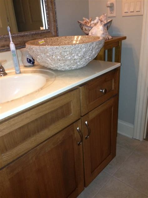 How To Install A Vessel Sink by What Is The Appropriate Height For A Vessel Sink Installation