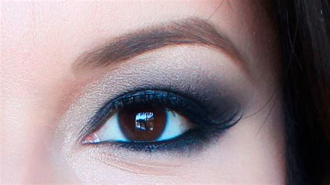 imagenes de ojos grandes maquillados maquillaje de noche para ojos grandes