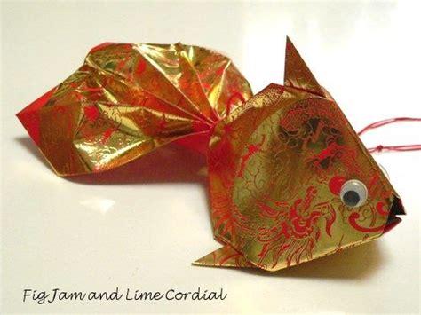 new year diy goldfish ang pao fish craft crafts and asian new year